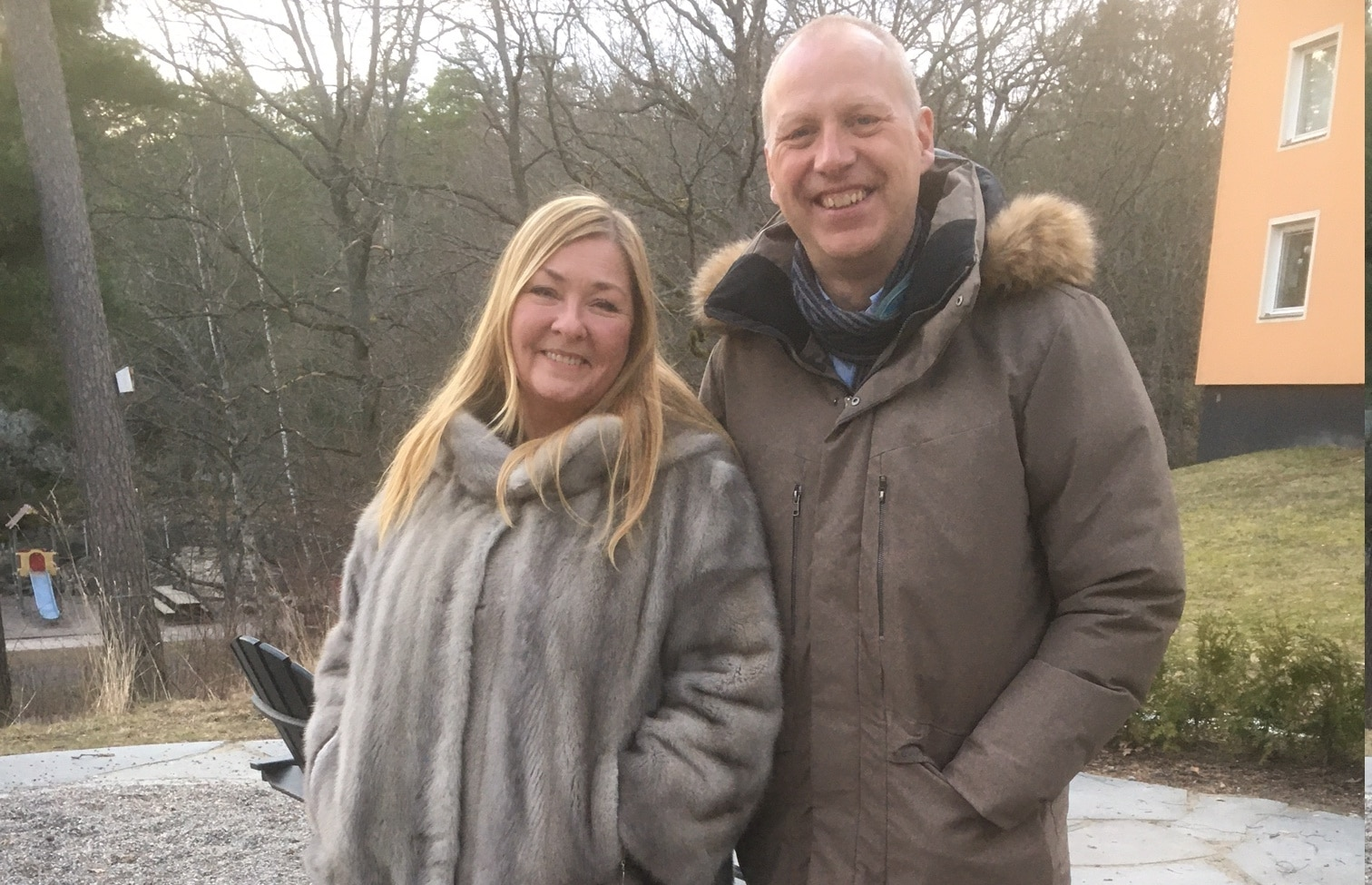 Jeanette Åkerlund och Fredrik Lidman