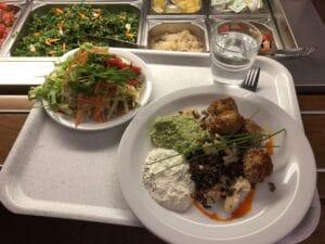 Lunchbricka med mat