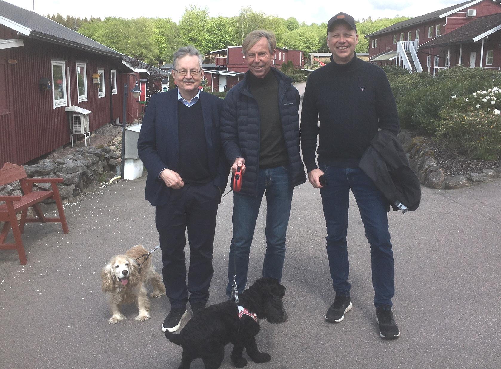 Karl-Erik Edris, Anders Kompass, Fredrik Lidman