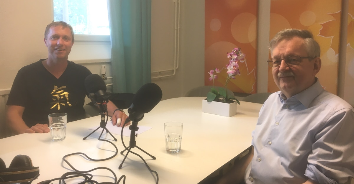 Klas Hallberg och Karl-Erik Edris